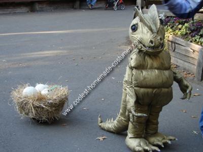 Homemade Unique Dinosaur Costume