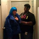 Lil Kim and Notorious BIG Costumes