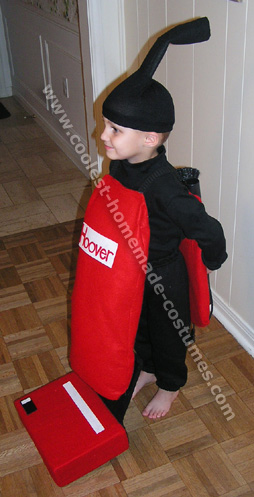Coolest homemade vacuum cleaner costumes for Comcostume halloween homme original