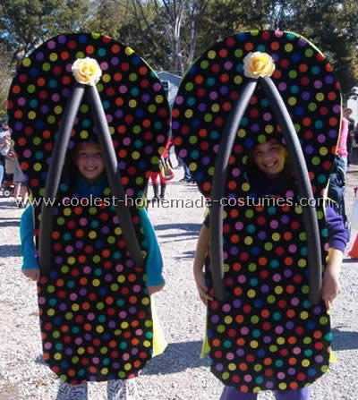 Homemade Flip Flop Party Costume