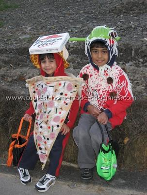 Pasta and Pizza Costume