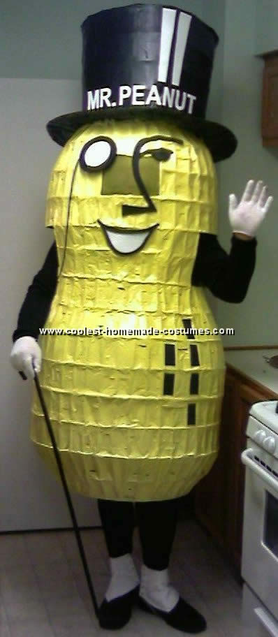 Planter's Peanut Costume