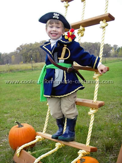 Pirate costume is a fu