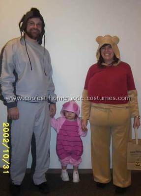 Pooh and Friends Costume
