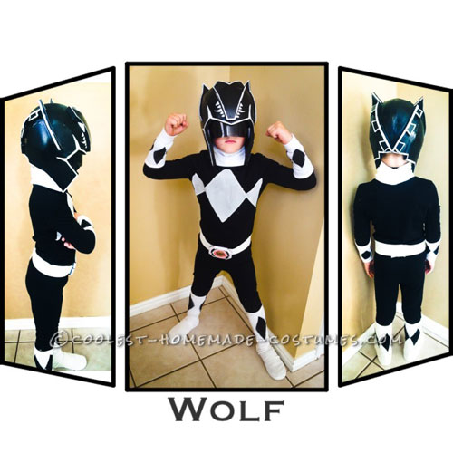 Coolest Ever DIY Power Rangers Costume Ideas