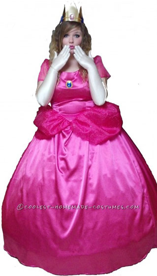 Hand Made Princess Peach Costume