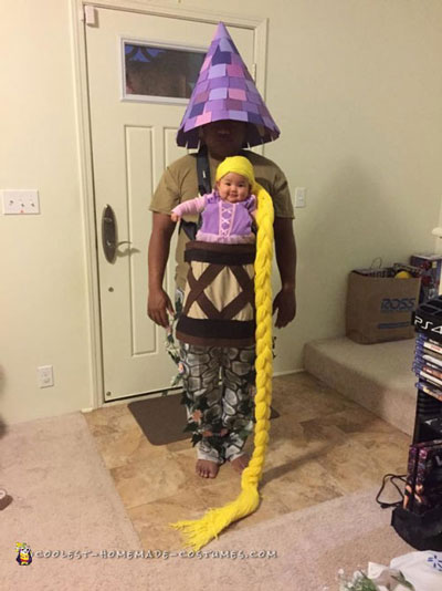 Dad and Daughter Rapunzel Costume