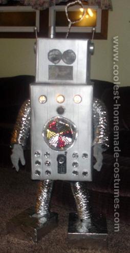 Костюм робот своими руками в домашних условиях