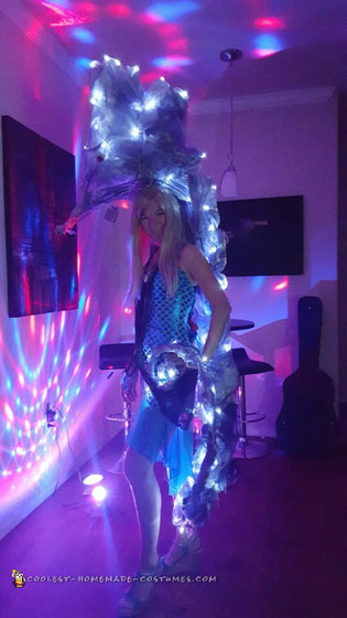 Insanely Awesome Light-Up Seahorse Costume!