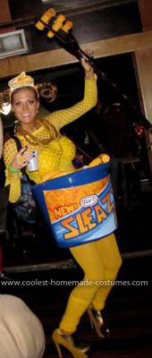 Homemade Sleazy Macaroni and Cheese Costume