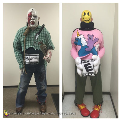 Smile vs. Evil Costume