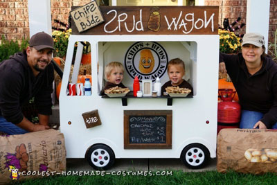 Spud Wagon Fry Truck Costume