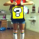 Flying Question Block Mario Bros Costumes