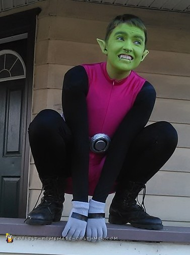 Beast Boy From Teen Titans Costume