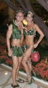 Homemade Adam and Eve Couple Costume