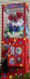 Homemade Bozo's Big Prize Claw Machine Costume