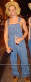 Homemade Grown Up Huckleberry Finn Costume