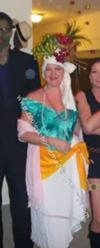 Homemade Carmen Miranda Costume