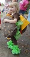 Homemade Cheeseburger Kids Halloween Costume Idea