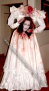 Homemade Headless Bride Costume