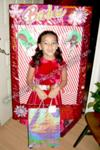 Homemade Holiday Barbie Costume