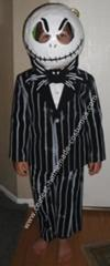 Homemade Jack Skellington Child Costume