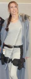 Homemade Lara Croft from Tomb Raider Costume