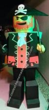 Homemade Lego Pirate Costume