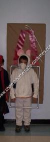 Homemade Mouse in a Mouse Trap Kids Halloween Costume