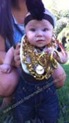 Homemade Mr T Baby Halloween Costume Idea