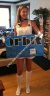 Homemade Orbit Girl Costume