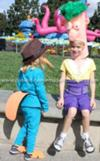 Coolest Homemade Phineas and Ferb with Agent P Group Costume