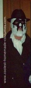 Homemade Rorschach from The Watchmen Costume