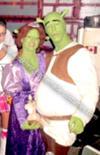 Shrek, Fiona & Donkey