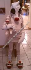 Homemade Sock Monkey Halloween Costume