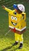 Homemade Spongebob, Squidward and Sandy Cheeks Group Costume