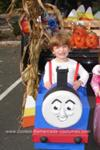 Homemade Thomas the Tank Engine Halloween Costume
