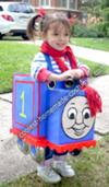 Homemade Thomas the Train Girl Costume