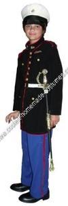Homemade USMC Dress Blues Costume
