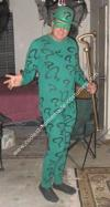 Homemade Riddler Costume