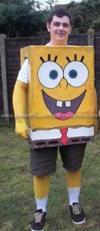 Coolest Spongebob Adult Costume