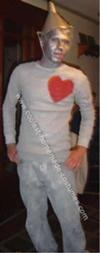 Homemade Tin Man DIY Halloween Costume
