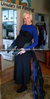 Coolest Ursula the Sea Witch Costume - First Fitting