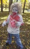 Homemade Zombie Child Costume